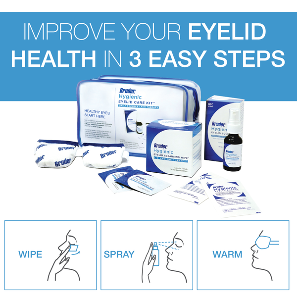 Bruder Hygienic Eyelid Care Kit - Daily Lid & Lash Therapy