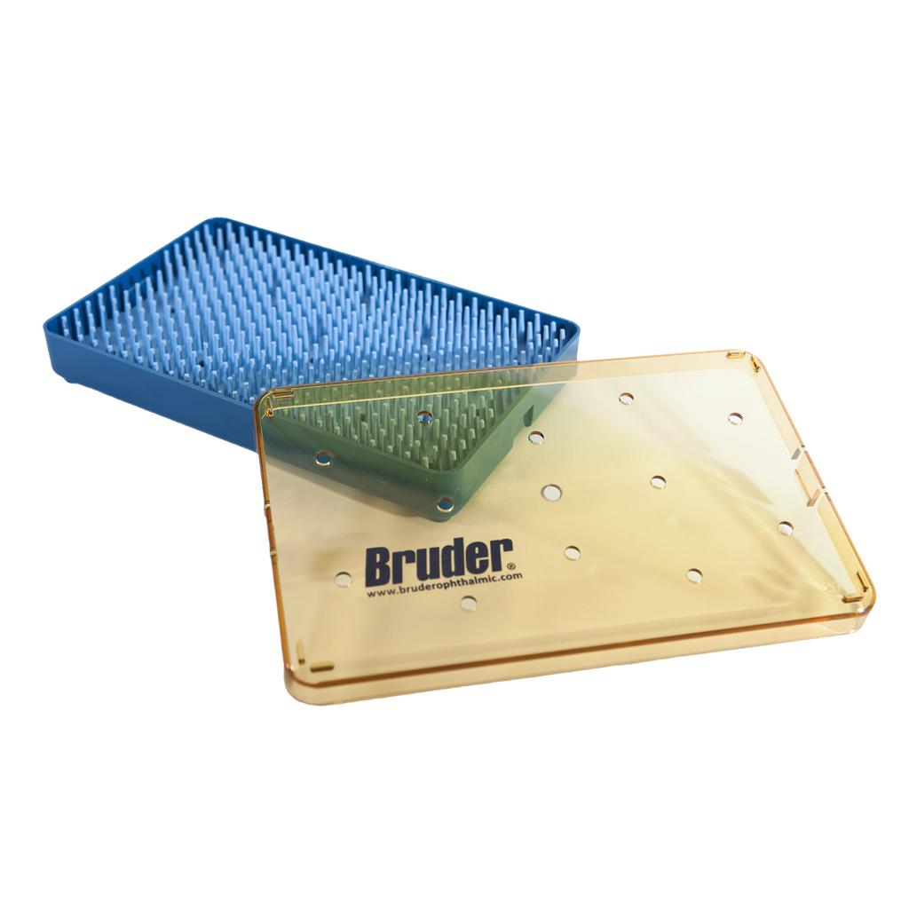 Bruder Instrument Tray Large, Autoclavable Instrument Tray, ophthalmic instrument storage tray,