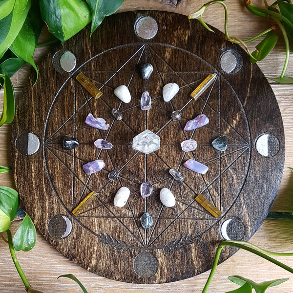 *Special Edition : Solstice Moon Crystal Grid