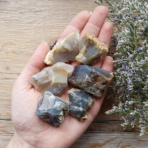 Grey Agate Chunks