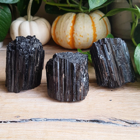 Black Tourmaline Logs