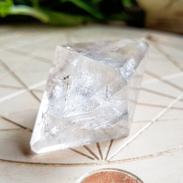 Quartz Platonic Solid Set - 1