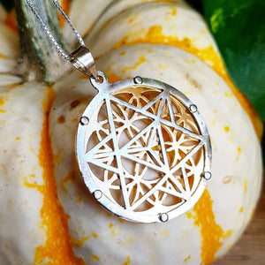 Flower of Life & Tetrahedron Talisman Gift Set