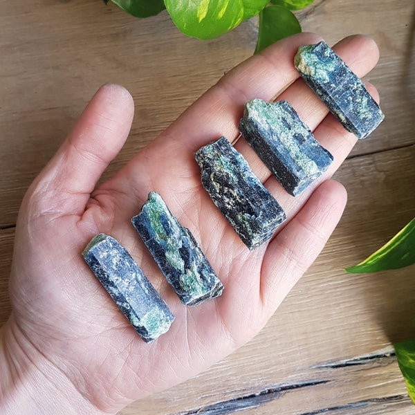 Blue Kyanite & Fuchsite