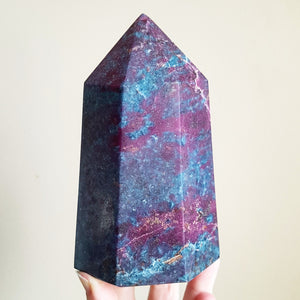 Ruby in Kyanite Generator - Polished - XXL (India)