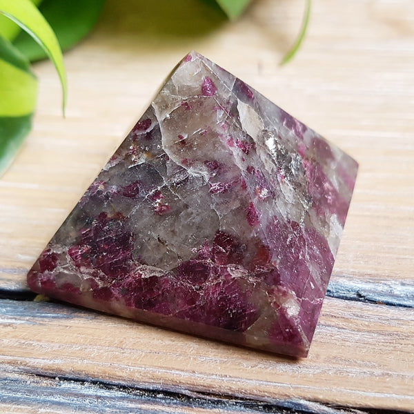 Euidialyte Pyramid - Polished - (Madagascar)