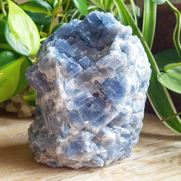 Blue Calcite Boulder (Mexico)
