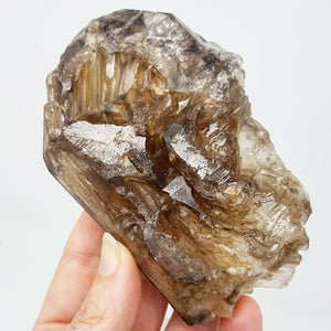 Smokey Elestial Quartz - Natural - Raw