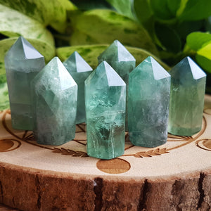 Fluorite Points - Small, Polished