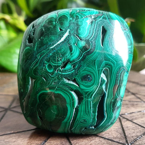 Polished Malachite #2