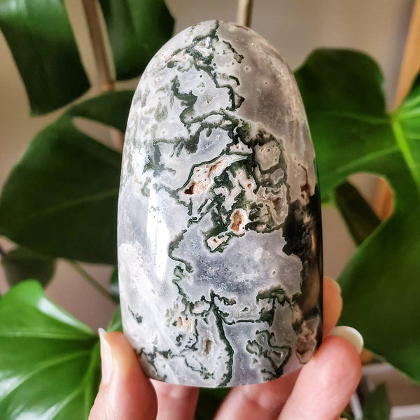 Moss Agate - Polished Freeform #3