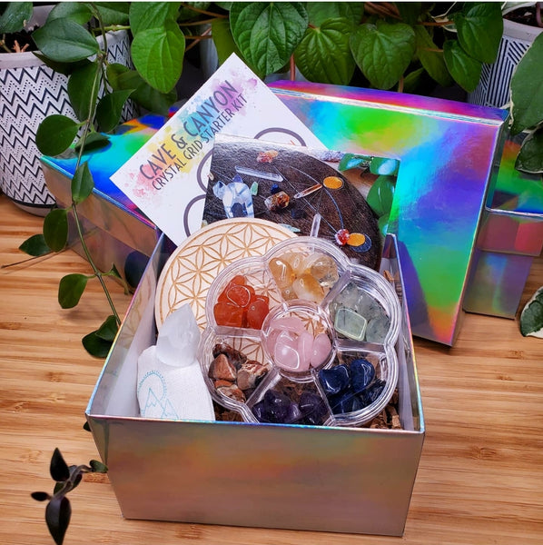 Crystal Grid Starter Kit - Gift Set