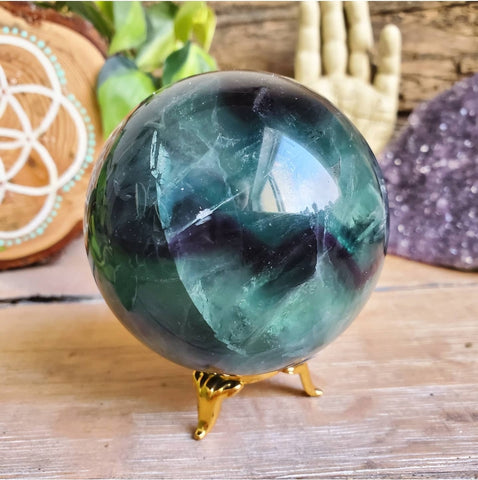 Fluorite Sphere (Polished) #1 - China