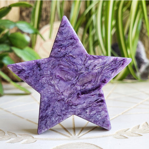 Charoite Star (Polished) Russia