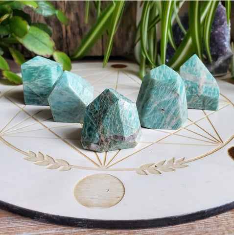Amazonite - Freeform Points