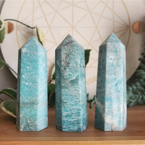 Amazonite Points