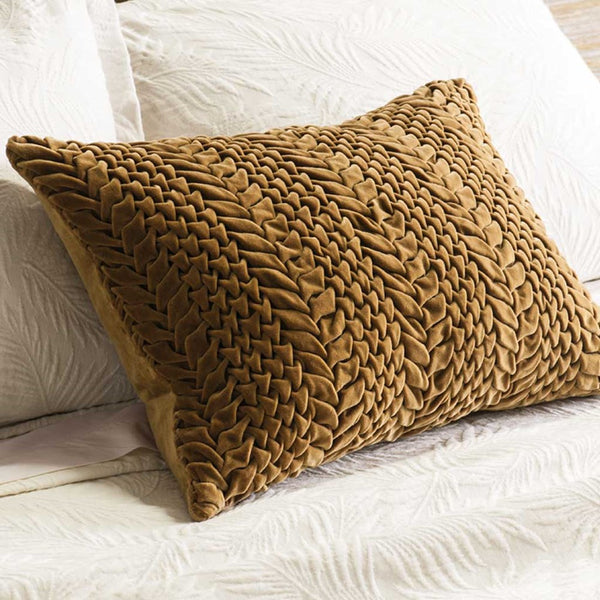 Piegato Antique Gold Cushion