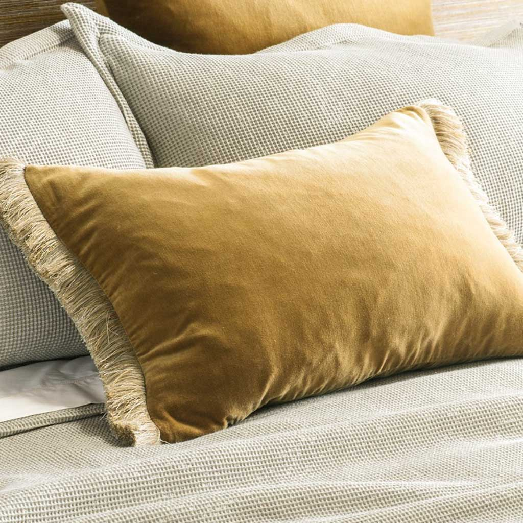 Tramonto Antique Gold Cushion