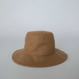 Wool Bucket Hat - Camel
