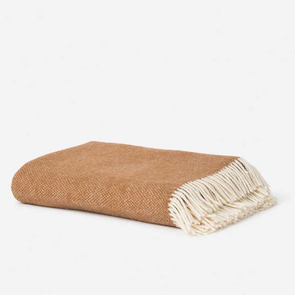 Wool Throw - Masala