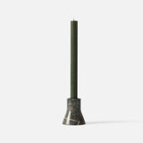 Flare Candle Holder - Forest Green