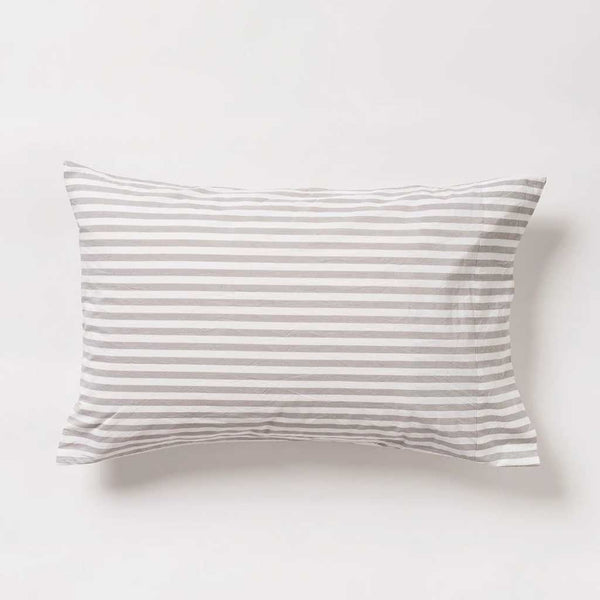 Stripe Organic Cotton Pillowcase PR