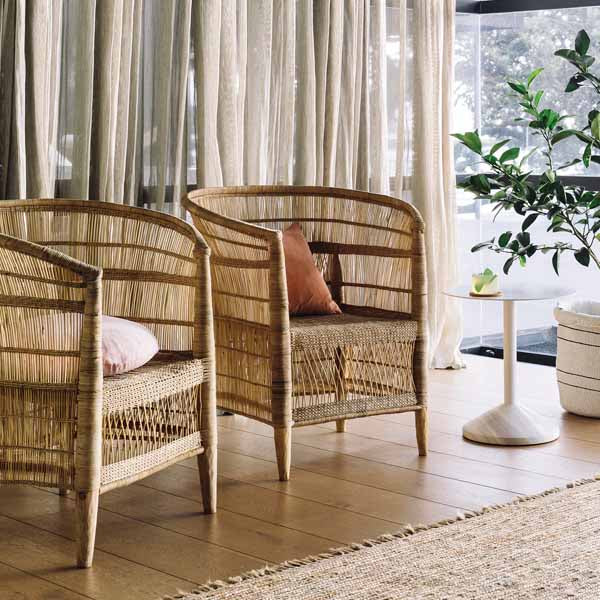 Malawi Single Cane Chair