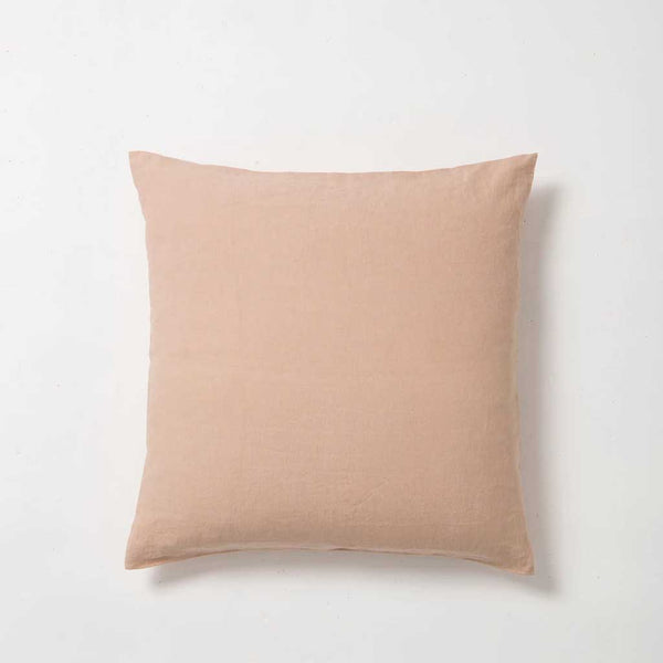 Sove Linen Euro Pillowcase - Iced Tea
