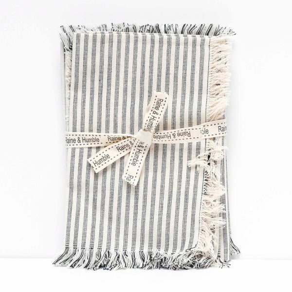 Napkin Manor Stripe S/4