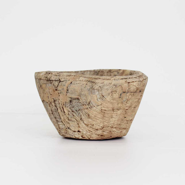 Kalo Wooden Pot - Natural