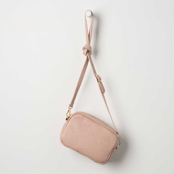 Dixon Leather Handbag - Rose