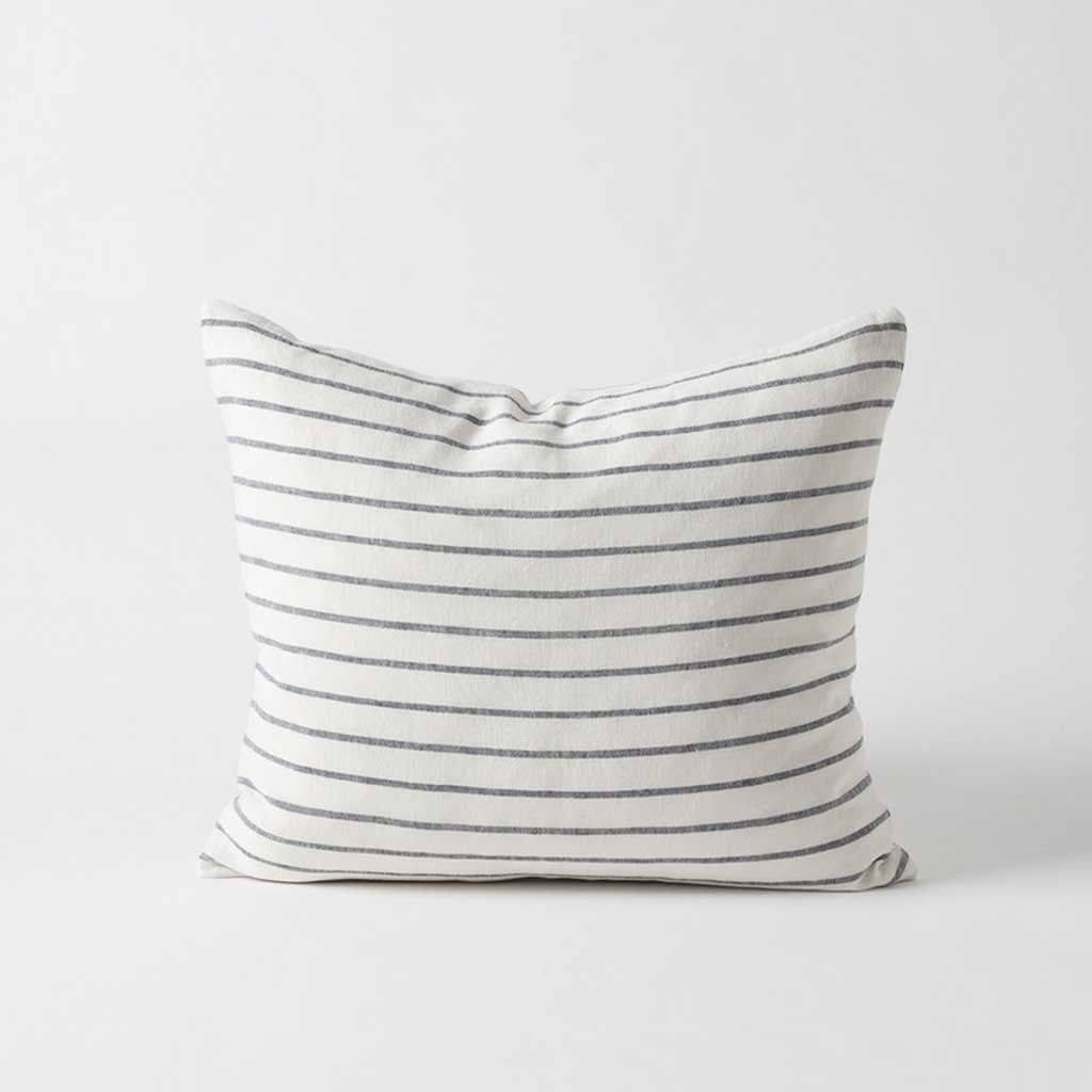 Hand Woven Stripe Linen Cushion Cover