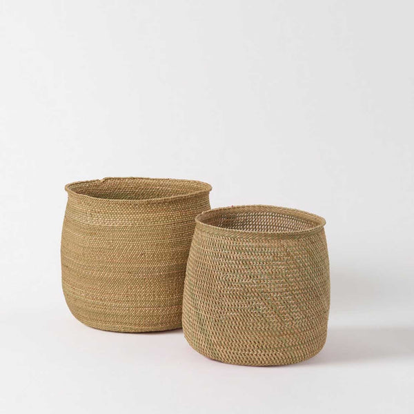 Iringa Woven Baskets - Natural