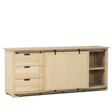 Sideboard W/Sliding Door & 6 Drawers