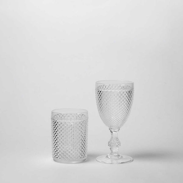 Diamond Cut Acrylic Tumbler