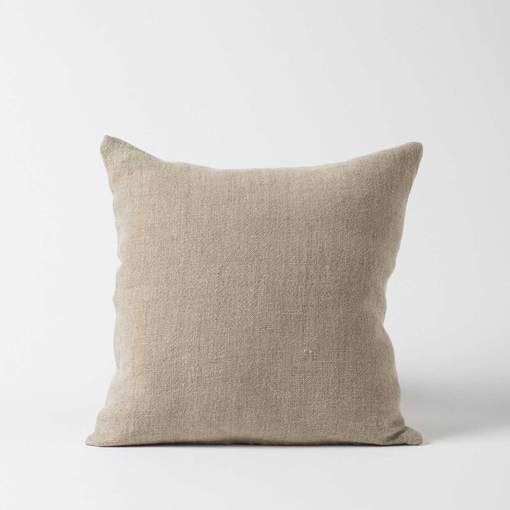 Heavy Linen Cushion Cover - Natural