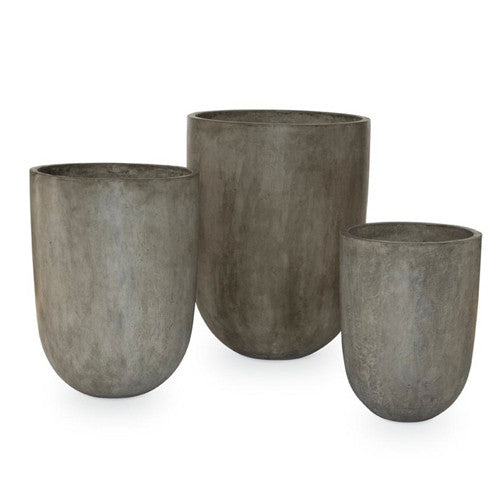 Concrete Planter Stone Grey