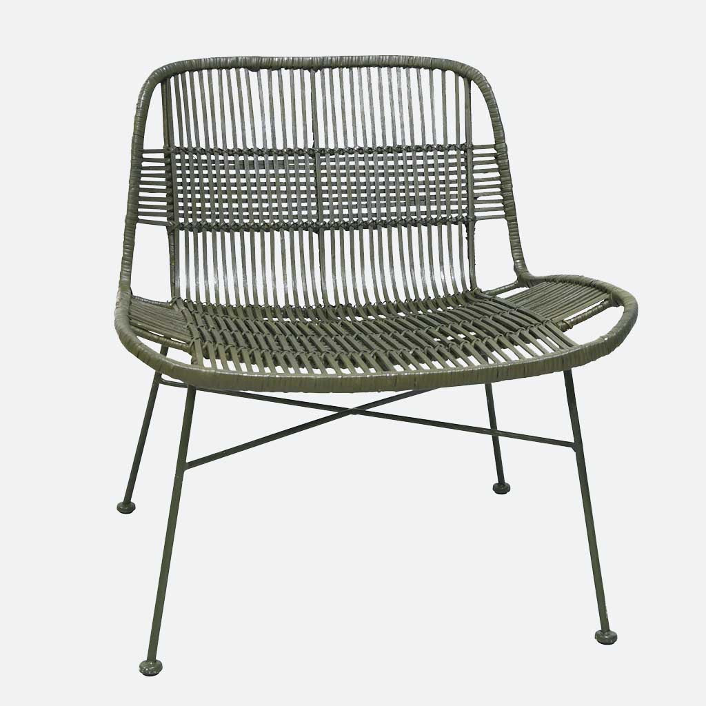Bahama Lounge Chair - Olive Green