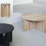 KDAM Solid Oak Table - Black