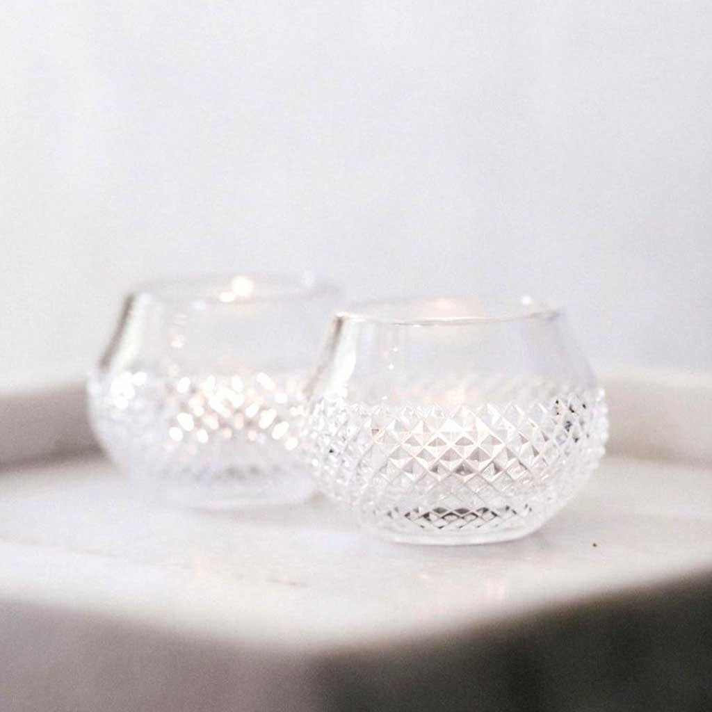 Handcut Crystal Votive