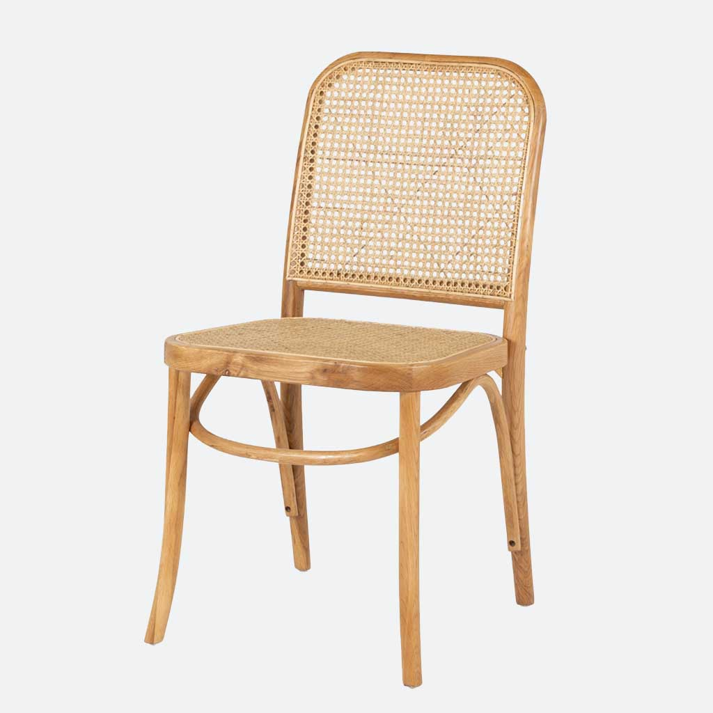 Denmark Rattan Chair - Natural
