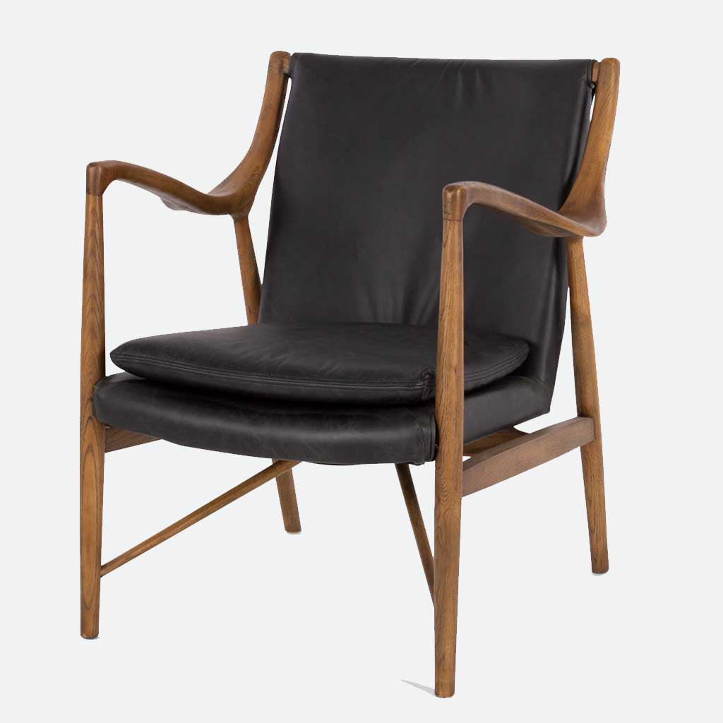 Denmark Armchair - Black