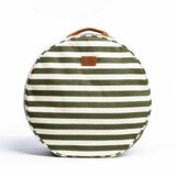 Picnic Cushion - Olive Stripe
