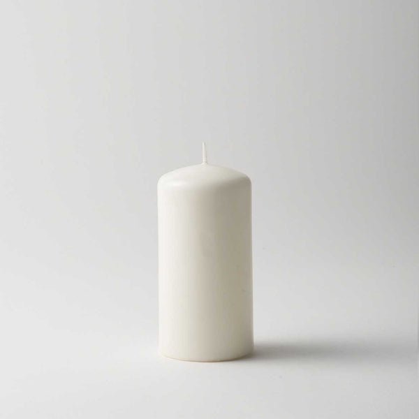 Lacquer Pillar Candle - Cream
