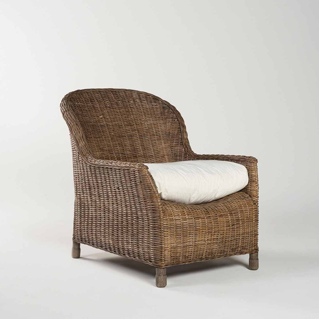 Rattan Gable Lounge Chair