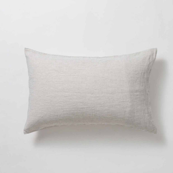 Sove Stripe Linen Pillowcase Pair
