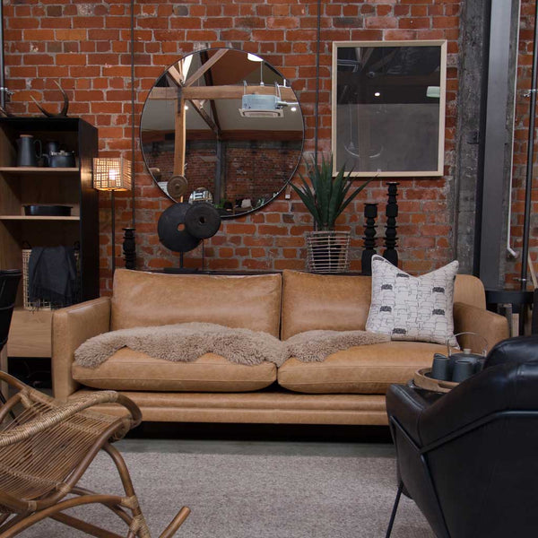 Urban 3-Seater Leather Sofa