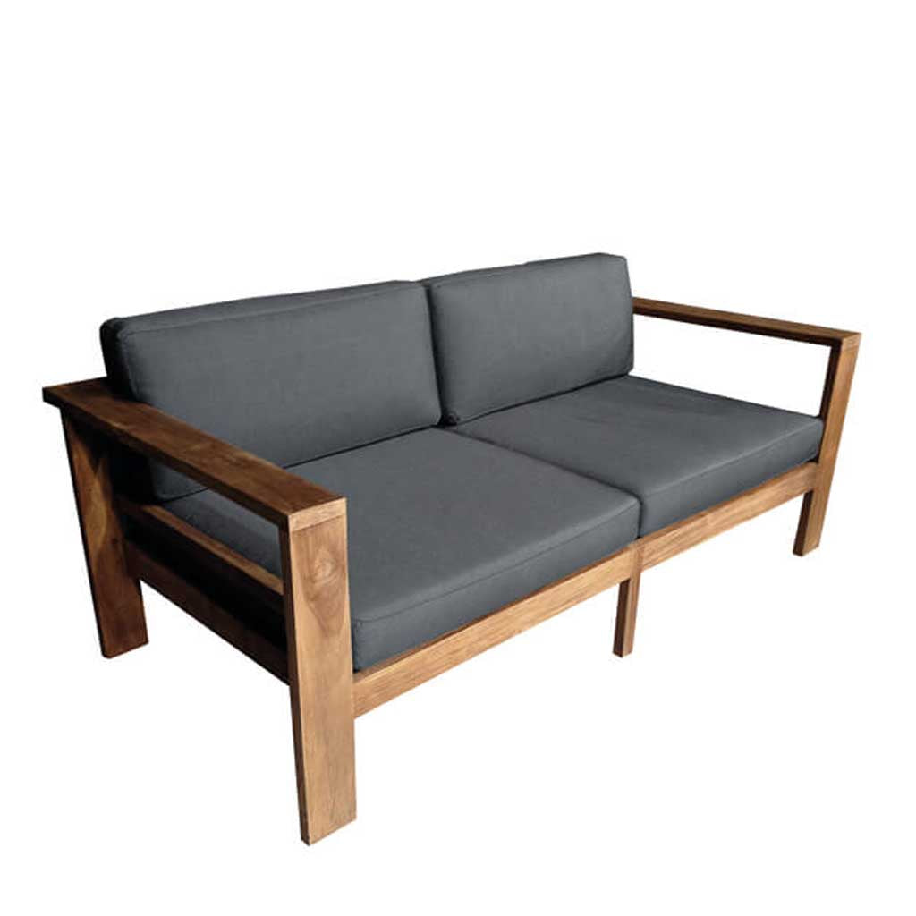 Cayman Teak 2-Seater Sofa