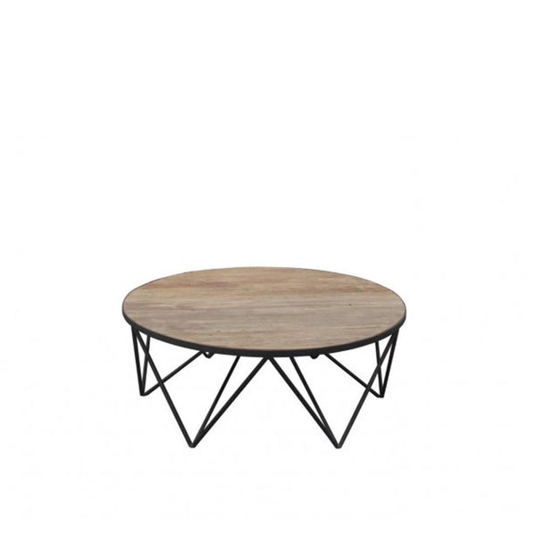 Slate Round Coffee Table