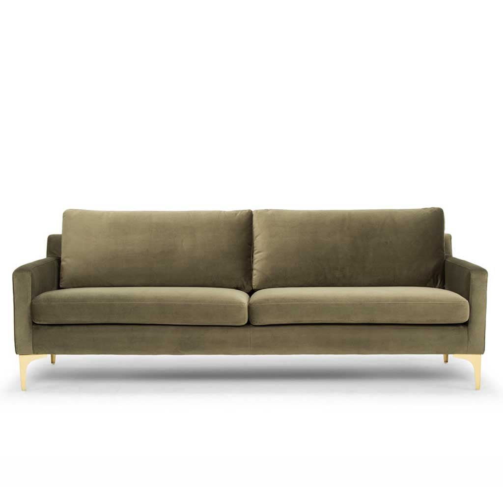 Hugo 3 Seater Sofa - Olive